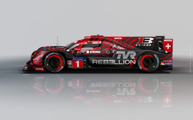 Strongest non-Toyota, the Rebellion.  [Photo by Rebellion Racing]