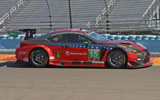 Lexus GT3 of JackHawksworth and Mario Farnbacher in action. [Joe Jennings Photo]