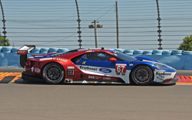 Fastest in the GTLM class was the Ford GT of Ryan Briscoe and Richard Westbrook.  [Joe Jennings Photo]