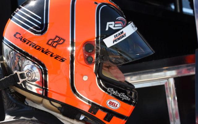 Helio Castroneves anxious to go racing. [Joe Jennings Photo]