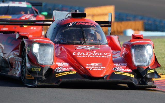 Winning JDC-Miller Motorsports ORECA.  [Photo by Jack Webster]