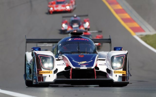 United Autosports Ligier at speed.  [Photo by Jack Webster]