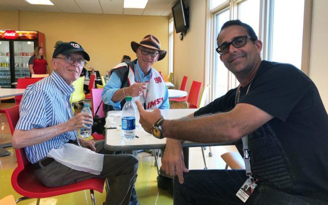 RacingNation.com crew take a well deserved break at Watkins Glen. L-R: Joe Jennings, Jack Webster and Eddie LePine.  [Photo by Jack Webster]
