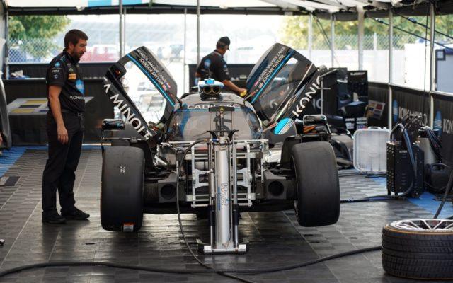 Race prep for WTR.  [Photo by Jack Webster]