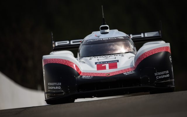 The Porsche 919 Tribute will be doing some laps at Rennsport.  [Photo by Porsche Motorsport]