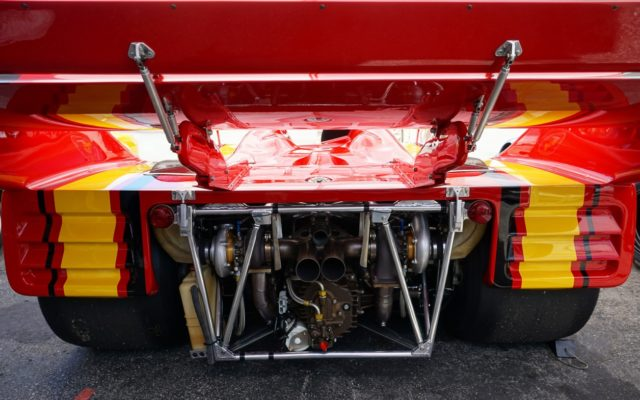 The business end of a Porsche 917/10.  [Photo by Jack Webster]