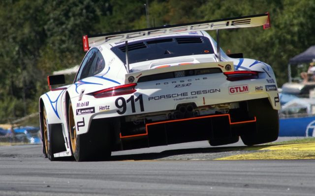 GTLM Class winning Porsche 911 RSR.  [Photo by Jack Webster]
