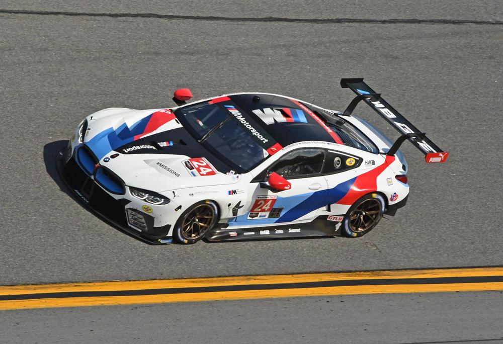 BMW M8 to be piloted by Alex Zanardi and three others. [Joe Jennings Photo]