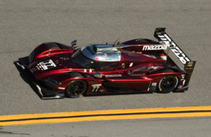 Fastest car in the field, the No. 77 Team Joest Mazda DPi. [Joe Jennings Photo]