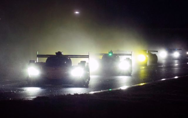 Wet and dark.  [Photo by Jack Webster]