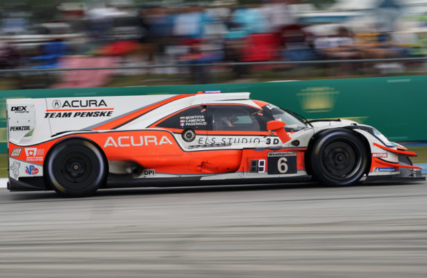 The Penske Acuras are getting a BoP break for Long Beach. [Photo by Jack Webster]