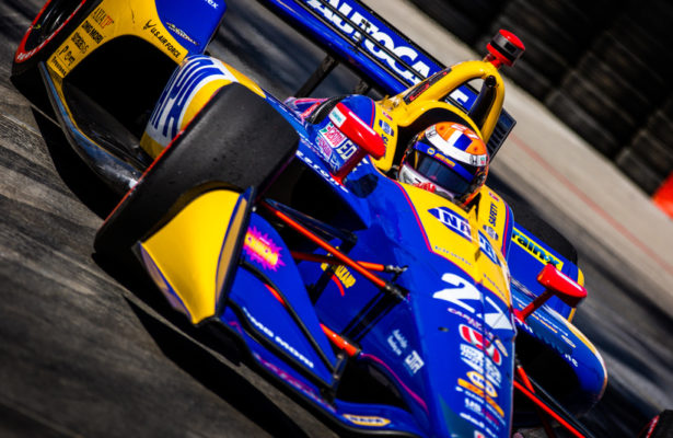 Andretti Autosport driver Alexander Rossi. © [Andy Clary / Spacesuit Media]
