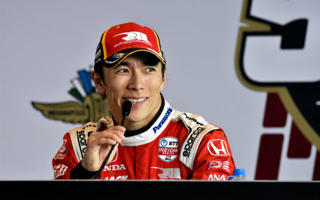 Third place finished in the Indianapolis 500, Takuma Sato.  [John Wiedemann Photo]