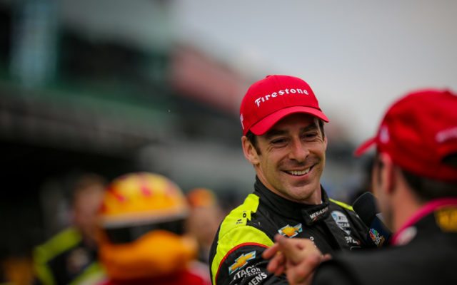 Simon Pagenaud and Jack Harvey – INDYCAR Grand Prix.  © [Andy Clary/ Spacesuit Media