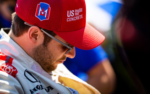 Marco Andretti – Indianapolis Motor Speedway.  © [Andy Clary/ Spacesuit Media]
