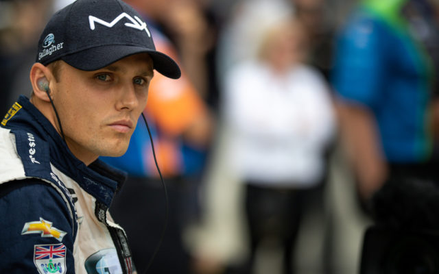 Max Chilton – Indianapolis Motor Speedway.  © [Andy Clary/ Spacesuit Media]