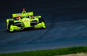 Simon Pagenaud won his third INDYCAR Grand Prix at the Indianapolis Motor Speedway road course. © [Jamie Sheldrick/ Spacesuit Media]