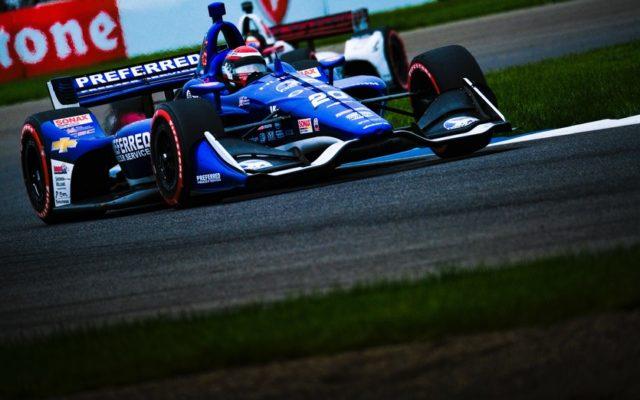 Ed Jones – INDYCAR Grand Prix.  © [Jamie Sheldrick/ Spacesuit Media]