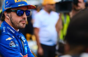 Fernando Alonso - Indianapolis Motor Speedway. © [Jamie Sheldrick/ Spacesuit Media]