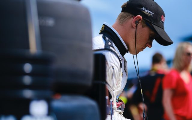 Spencer Pigot – Indianapolis Motor Speedway.  © [Jamie Sheldrick/ Spacesuit Media]