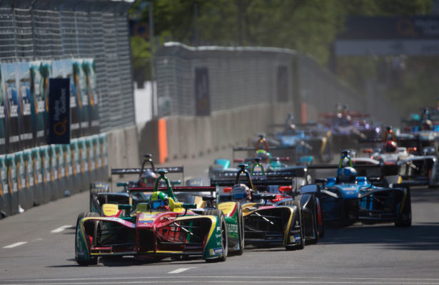 Formula e race action. [FIA Formula e Photo]