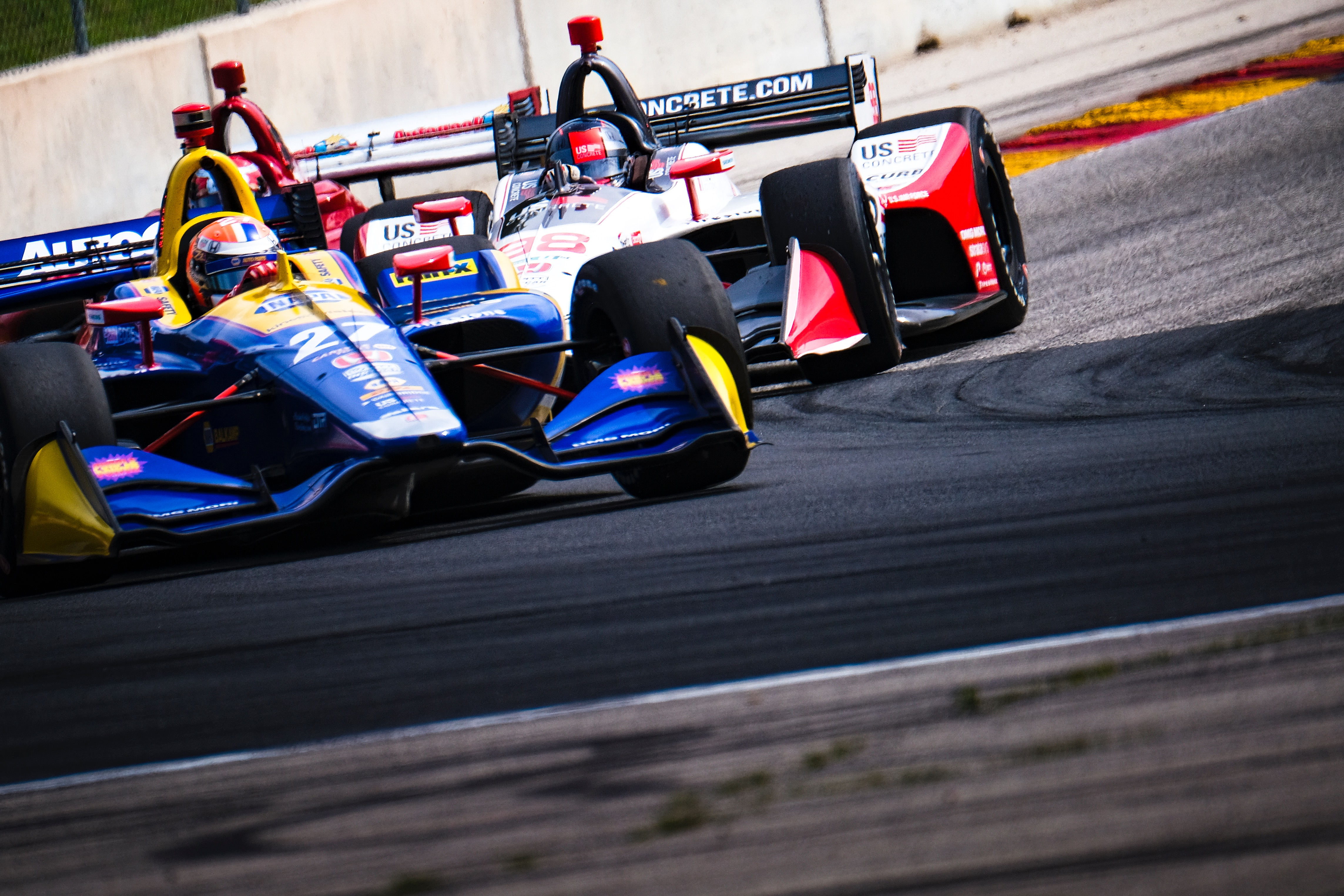 Alexander Rossi and Marco Andretti. © [Jamie Sheldrick/ Spacesuit Media]