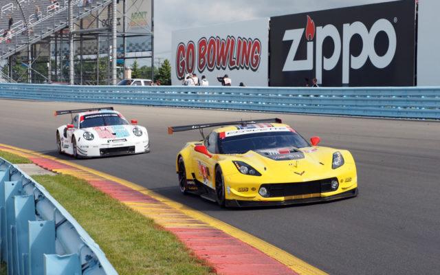 GTLM race action.  [Jack Webster Photo]