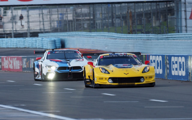 To the grid.  [Jack Webster Photo]