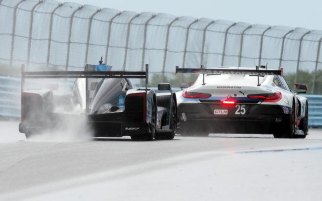Multi-class racing.  [Jack Webster Photo]