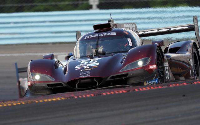 Winning Mazda DPi.  [Jack Webster Photo]