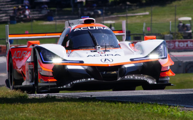Acura at turn 6.  [Photo by Jack Webster]