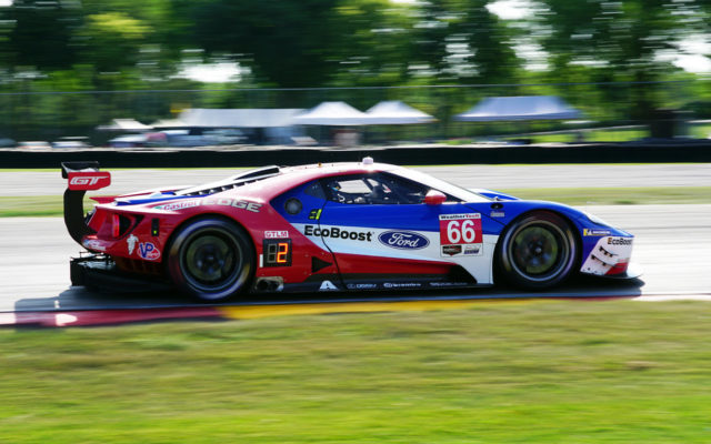 Ford GT at speed.  [Photo by Jack Webster]