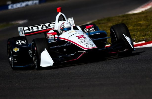 Josef Newgarden leads the points heading into the NTT IndyCar Series season finale. © [Andy Clary/ Spacesuit Media]