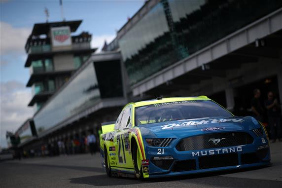 Paul Menard during practice for the Monster Energy NASCAR Cup Series Big Machine Vodka 400 at Indianapolis Motor Speedway. [Matt Sullivan/Getty Images]