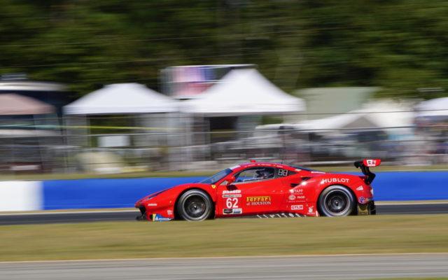 Ferrari wins GTLM.  [Photo by Jack Webster]