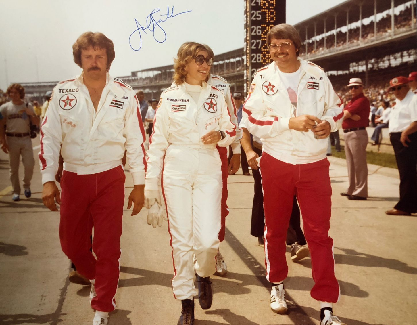 Janet Guthrie at Indianapolis. [Paul Gohde Photo]