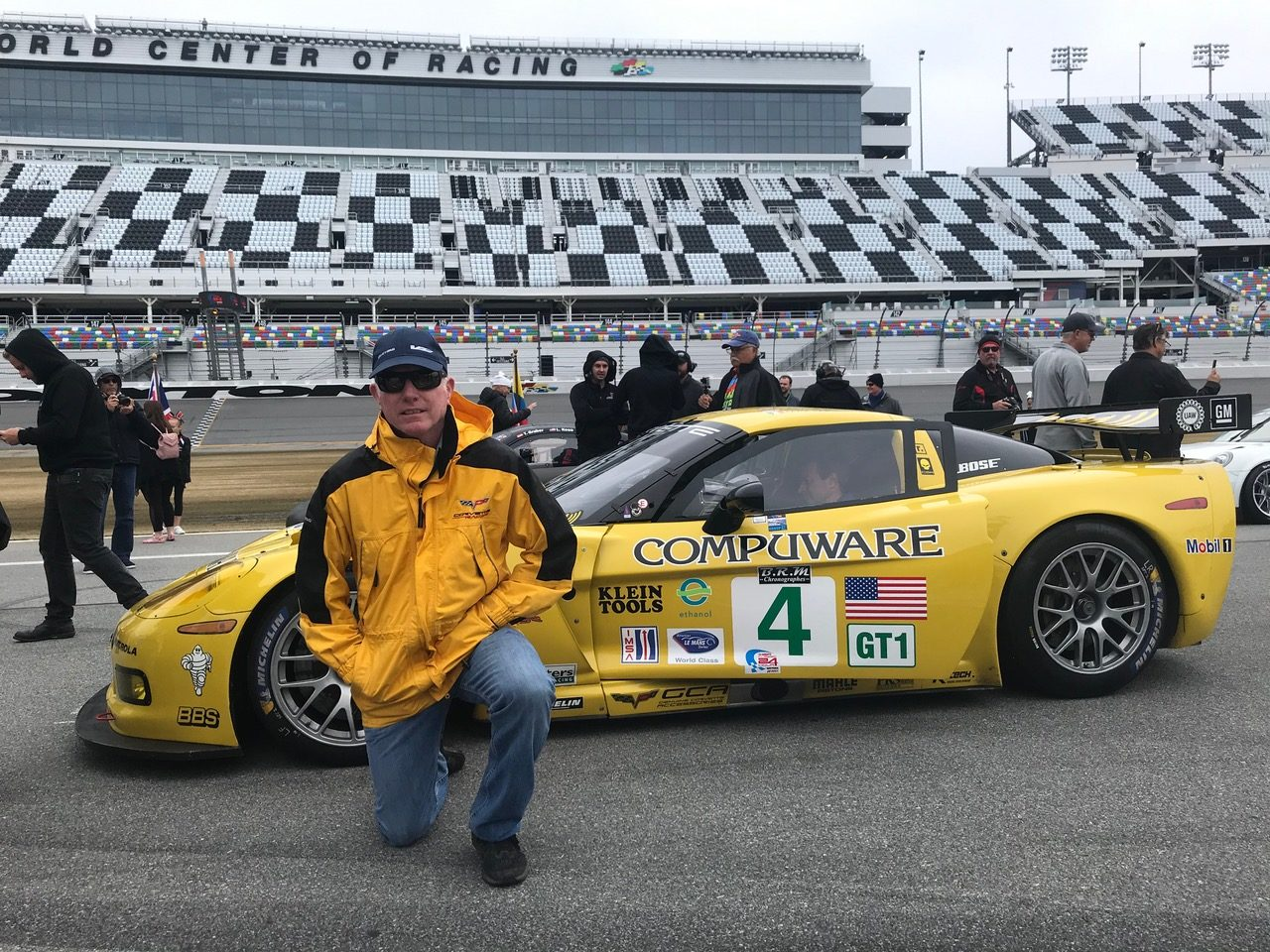 Old friend Johnny O'Connell at Daytona.  [Photo by Eddie LePine]