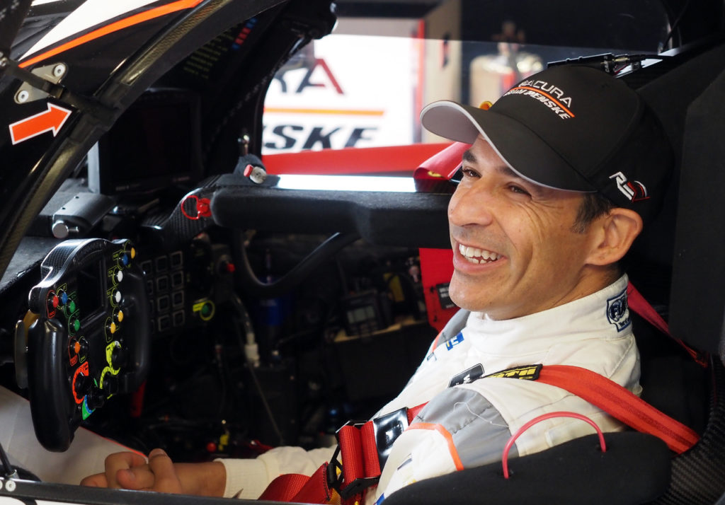 Helio Castroneves looking forward to more IMSA success with Acura. [Photo by Jack Webster]