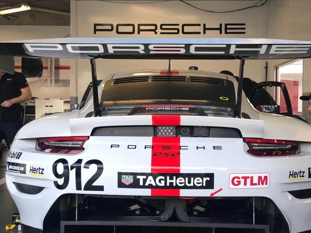 The new Porsche 911 RSR. [Eddie LePine Photo]