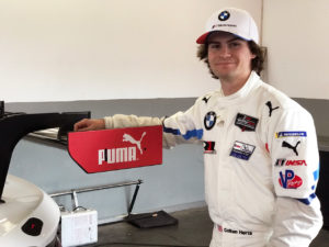 Colton Herta is back to defend his GTLM win last year. [Eddie LePine Photo]