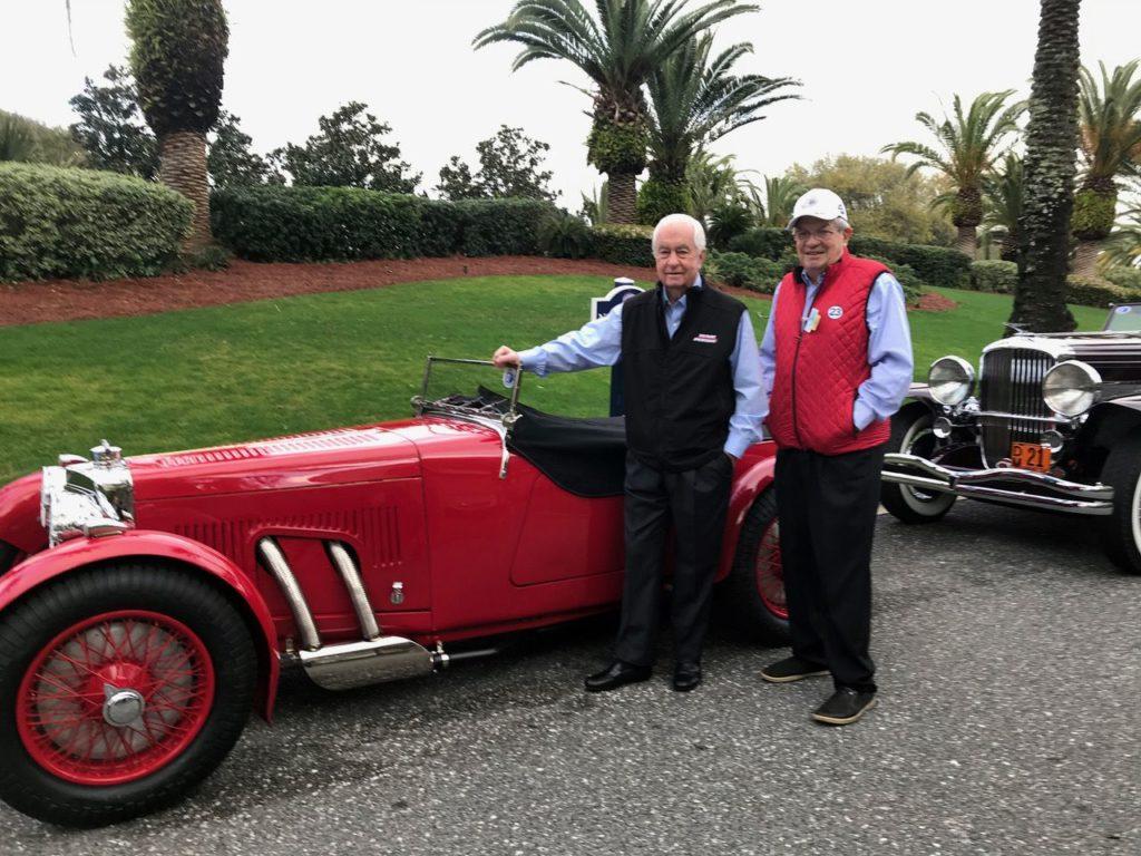 Roger Penske and Bill Warner. [Photo by Eddie LePine]
