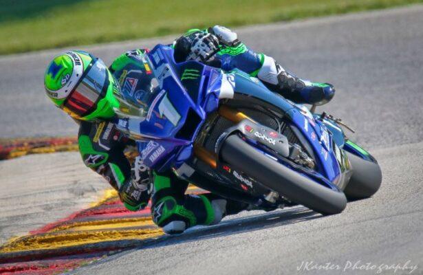 Cameron Beaubier winning race 1. [Jon Kanter photo]