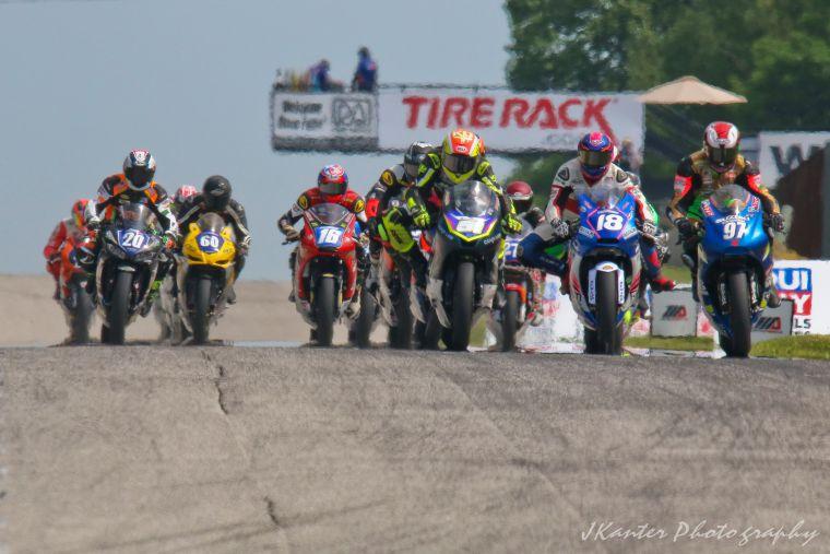 The start of the Twins race. [Jon Kanter photo]