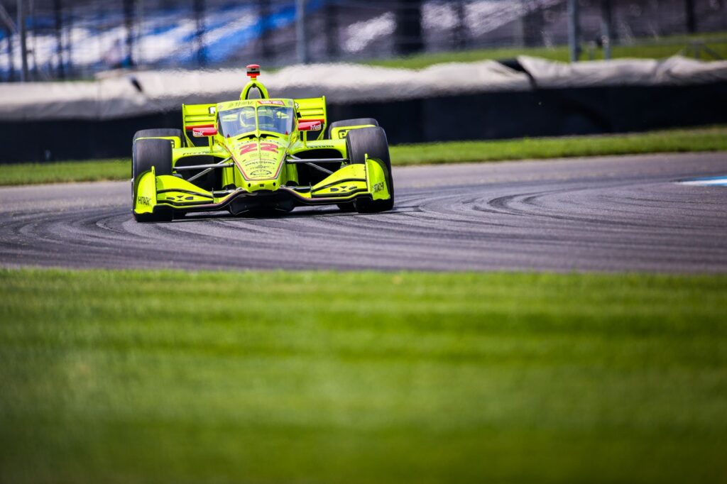 Simon Pagenaud finished third in the GMR Grand Prix. © [Andy Clary/ Spacesuit Media]