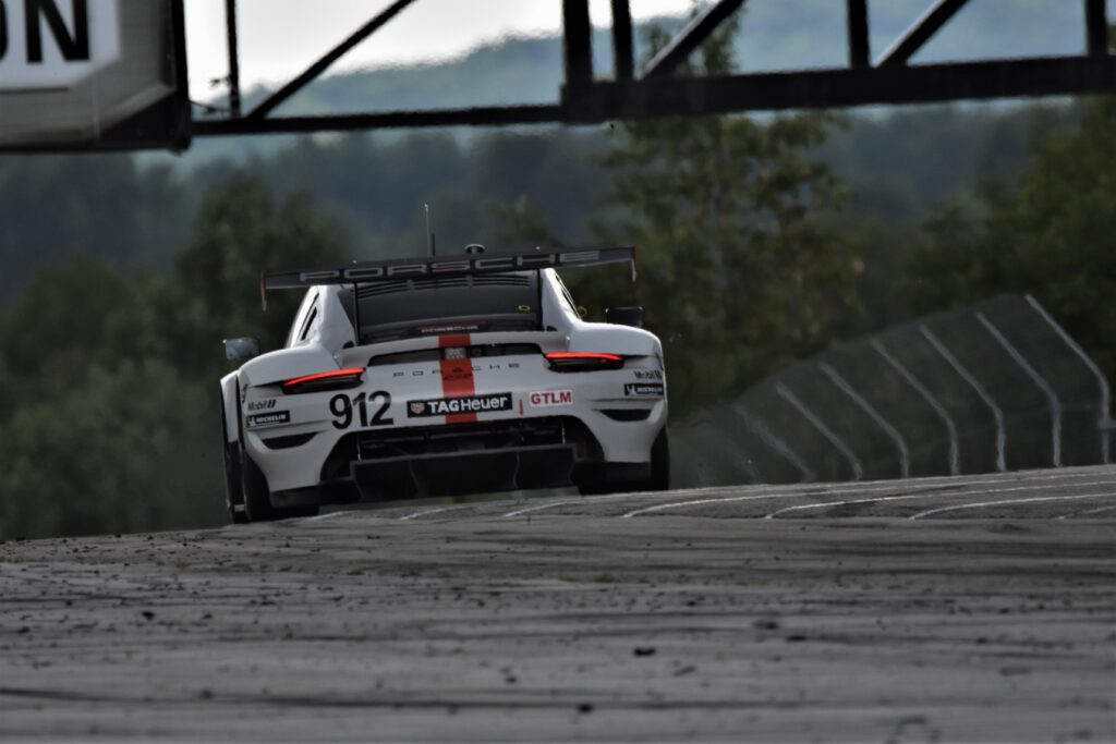 Porsche #912 races on to Turn 2 at Road America. [John WIedemann Photo]