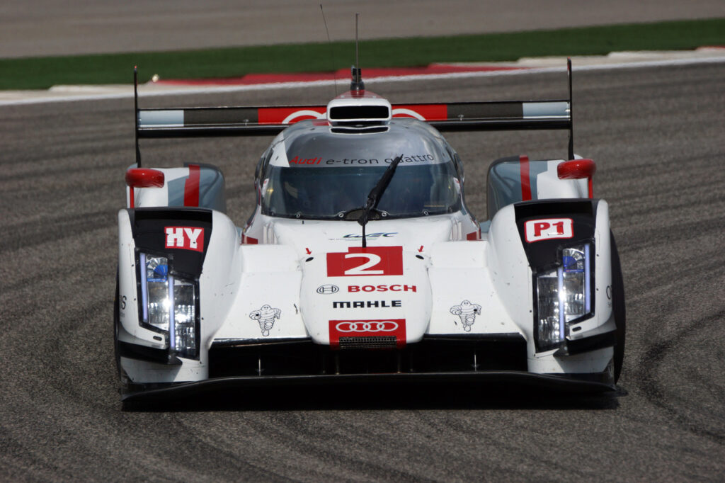 Audi R18 e-tron quattro. [Photo credit: Jack Webster]