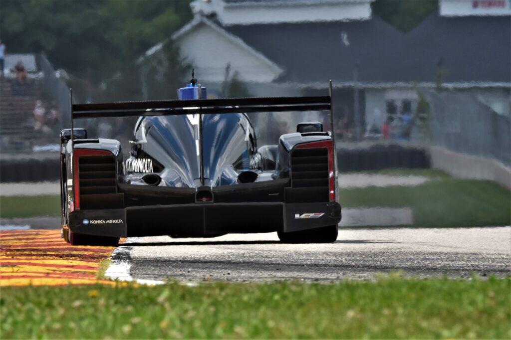Wayne Taylor Racing Cadillac heads out of Turn 7. [John Wiedemann Photo]
