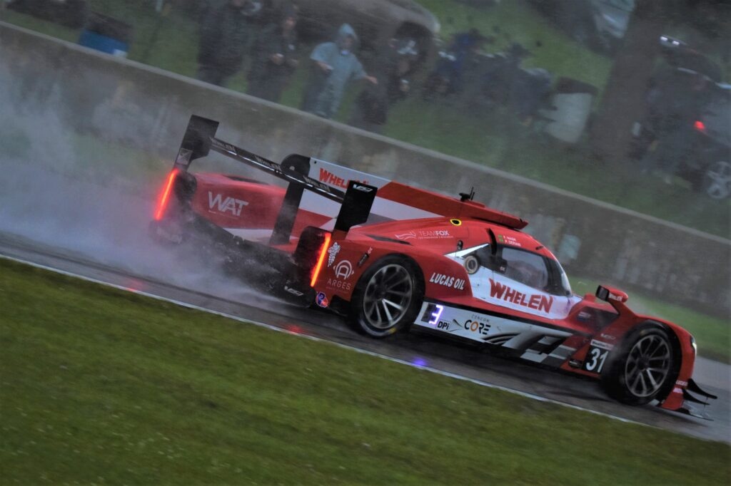After repairs the Whelen Cadillac is back racing. [John Wiedemann Photo]