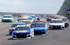 Chase Elliott takes the green flag at Watkins Glen International. [Photo by Matt Sullivan/Getty Images]