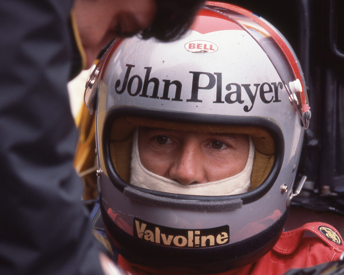 Mario Andretti. [Photo by Jack Webster]